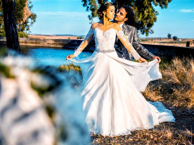 La boda de Benjamín y Estefanía en Granja De Torrehermosa, Badajoz 27