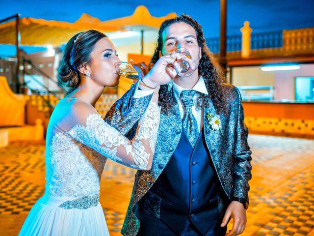 La boda de Benjamín y Estefanía en Granja De Torrehermosa, Badajoz 28