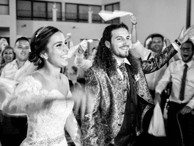 La boda de Benjamín y Estefanía en Granja De Torrehermosa, Badajoz 29