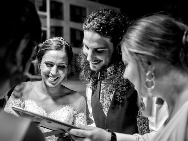 La boda de Benjamín y Estefanía en Granja De Torrehermosa, Badajoz 30