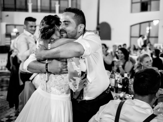 La boda de Benjamín y Estefanía en Granja De Torrehermosa, Badajoz 33