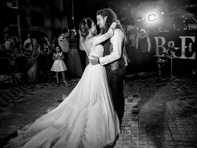 La boda de Benjamín y Estefanía en Granja De Torrehermosa, Badajoz 35