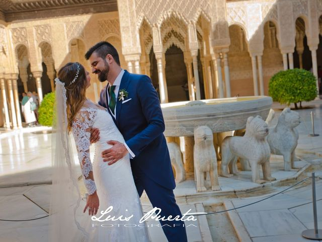 La boda de Adriana y Jairo en Almuñecar, Granada 1