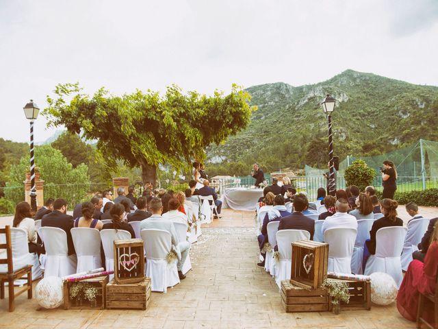 La boda de Oscar y Soraya en Vandellos, Tarragona 19