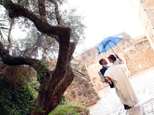 La boda de Andrés  y Isabel en Niebla, Huelva 1