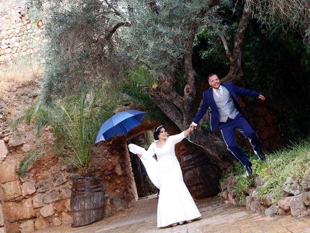 La boda de Andrés  y Isabel en Niebla, Huelva 2