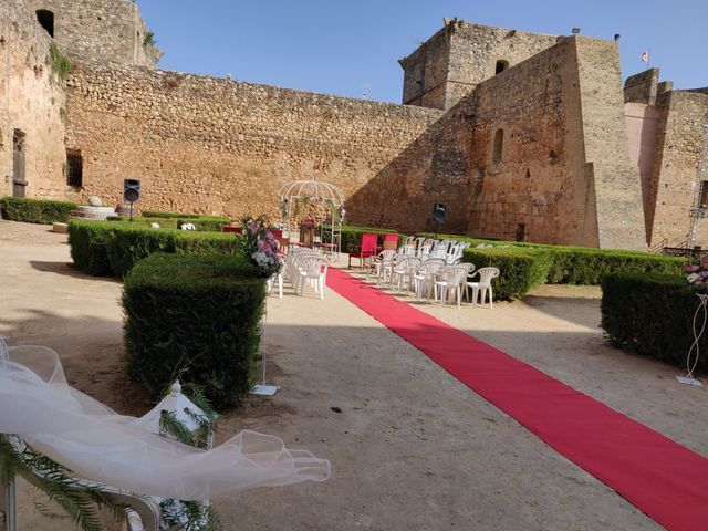 La boda de Andrés  y Isabel en Niebla, Huelva 9