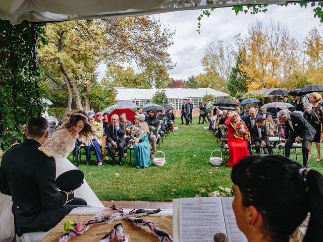 La boda de Nacho y Aroa en El Escorial, Madrid 21