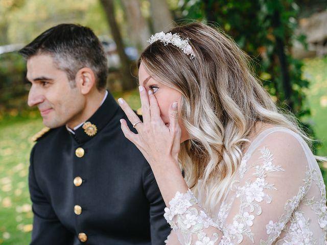 La boda de Nacho y Aroa en El Escorial, Madrid 23