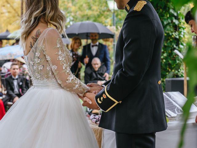 La boda de Nacho y Aroa en El Escorial, Madrid 25