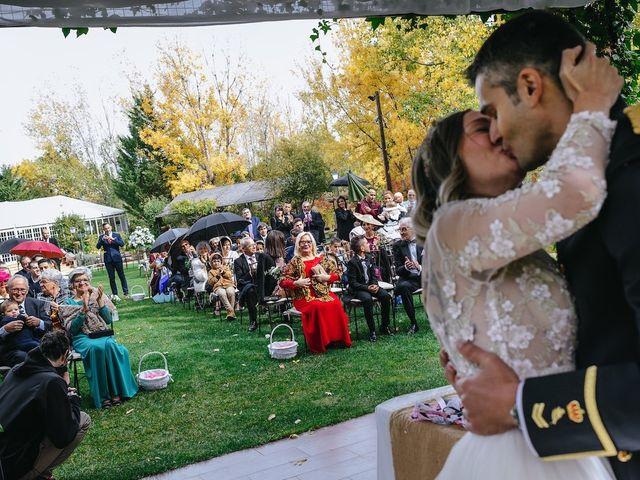 La boda de Nacho y Aroa en El Escorial, Madrid 28