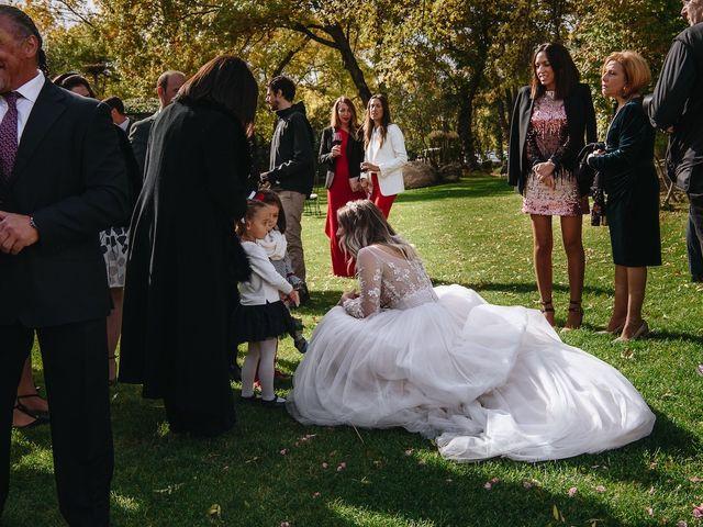 La boda de Nacho y Aroa en El Escorial, Madrid 33
