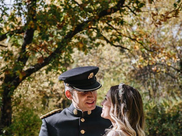 La boda de Nacho y Aroa en El Escorial, Madrid 35
