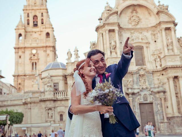 La boda de Miguel Ángel y Nathalie en Llano De Molina, Murcia 1