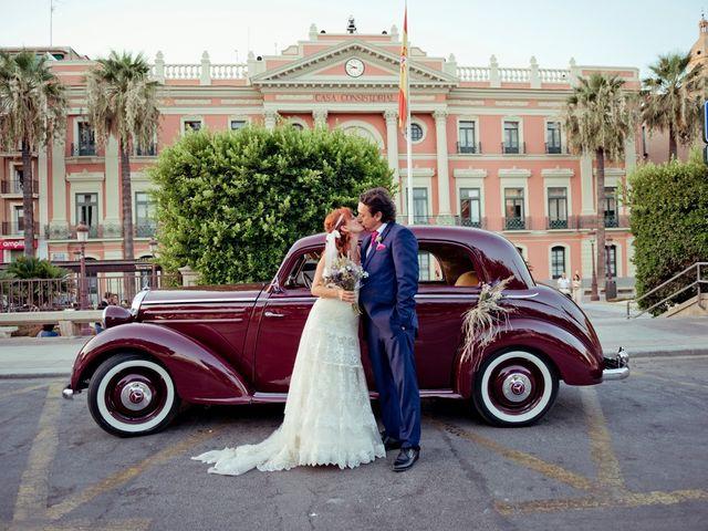 La boda de Miguel Ángel y Nathalie en Llano De Molina, Murcia 3