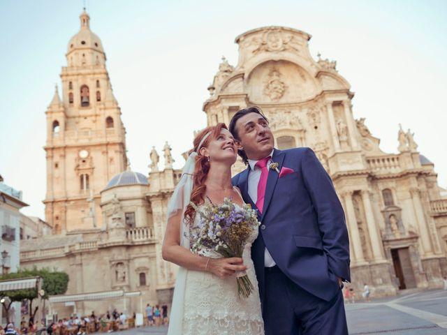 La boda de Miguel Ángel y Nathalie en Llano De Molina, Murcia 4