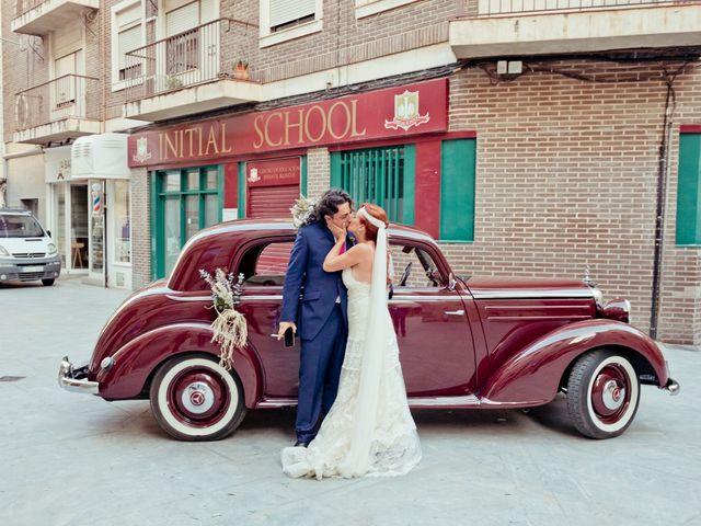 La boda de Miguel Ángel y Nathalie en Llano De Molina, Murcia 7