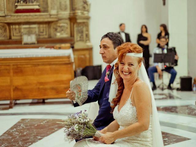 La boda de Miguel Ángel y Nathalie en Llano De Molina, Murcia 15