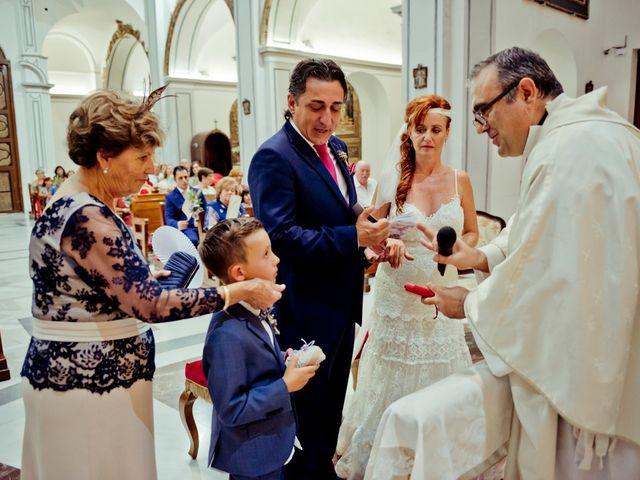 La boda de Miguel Ángel y Nathalie en Llano De Molina, Murcia 19