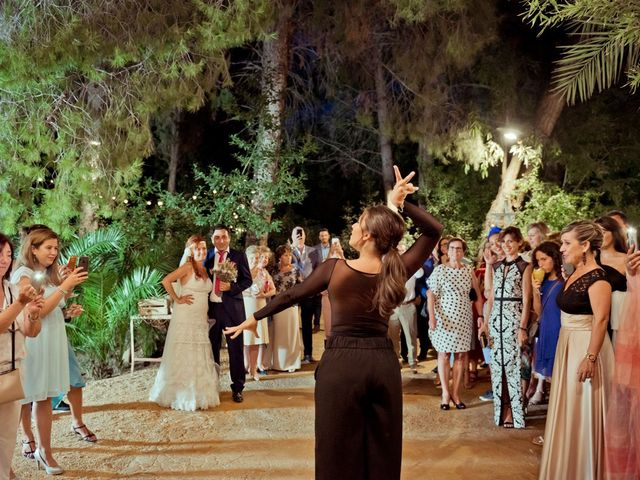 La boda de Miguel Ángel y Nathalie en Llano De Molina, Murcia 34