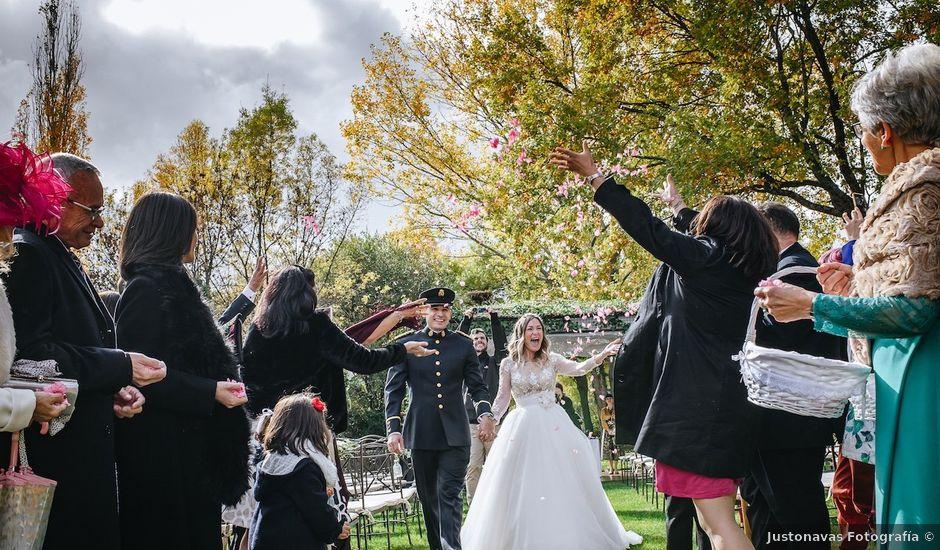 La boda de Nacho y Aroa en El Escorial, Madrid