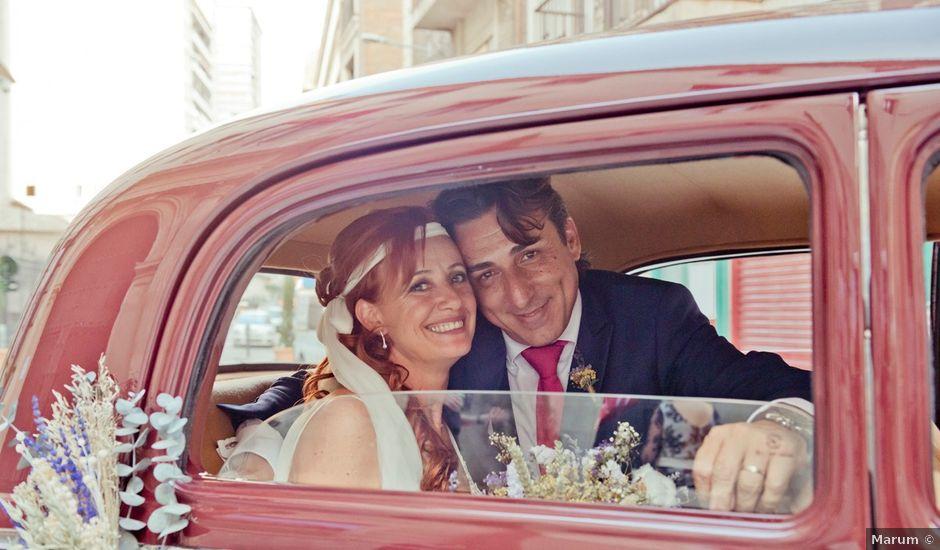 La boda de Miguel Ángel y Nathalie en Llano De Molina, Murcia