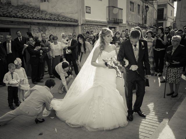 La boda de Enrique y Raquel en Teruel, Teruel 17