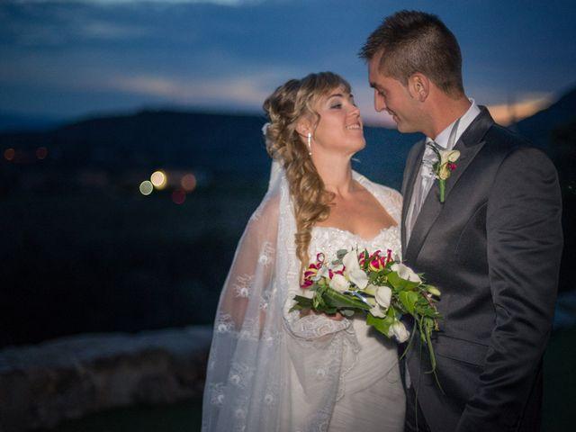 La boda de Enrique y Raquel en Teruel, Teruel 1