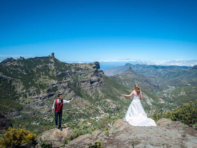 La boda de Elisabeth y David en Juan Grande, Las Palmas 90