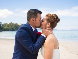 La boda de Olaya y Anxo