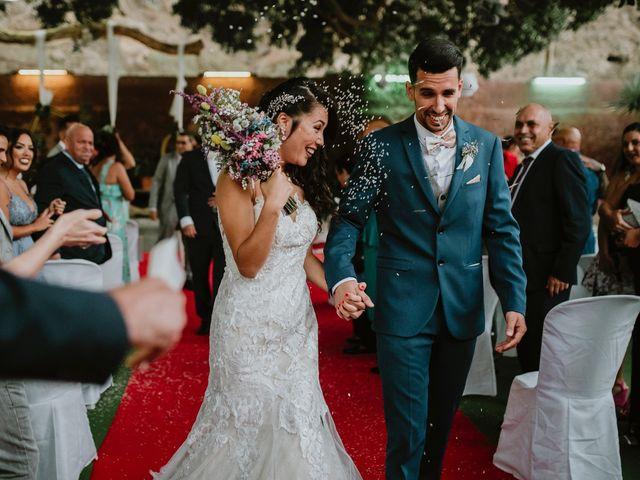 La boda de Saúl y Diana en Telde, Las Palmas 54