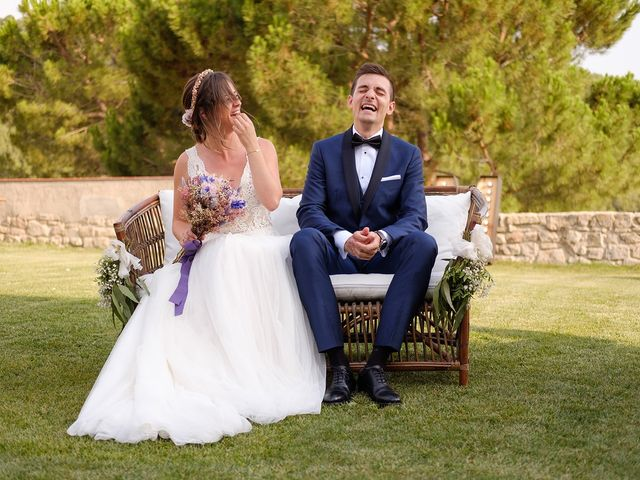 La boda de Mònica y Armand