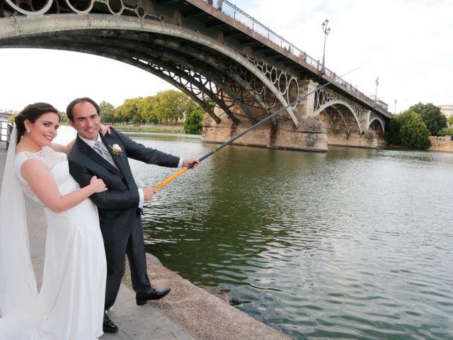 La boda de Fran y Carmen en Sevilla, Sevilla 14