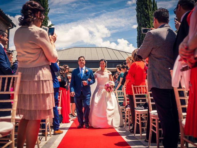La boda de Carlos y Alba en Boadilla Del Monte, Madrid 45