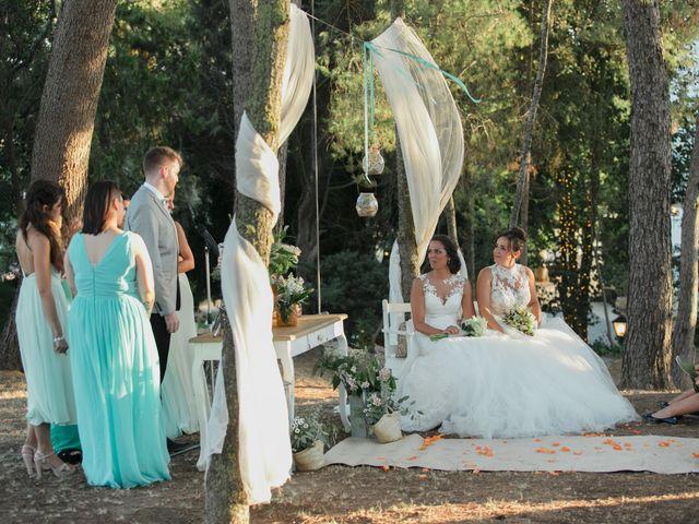 La boda de Tamara y Mireia en Olerdola, Barcelona 45