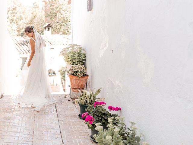 La boda de Fernando y Beatriz en Ucles, Cuenca 22