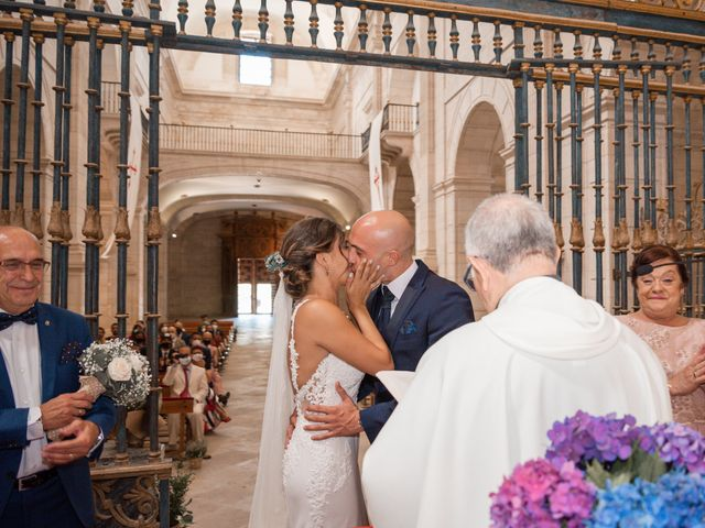 La boda de Fernando y Beatriz en Ucles, Cuenca 29