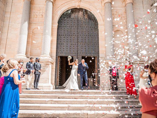 La boda de Fernando y Beatriz en Ucles, Cuenca 31