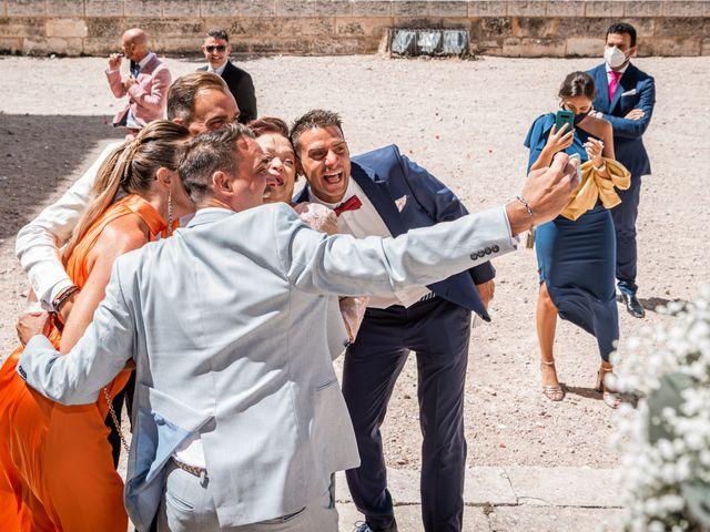 La boda de Fernando y Beatriz en Ucles, Cuenca 35