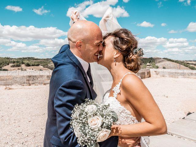 La boda de Fernando y Beatriz en Ucles, Cuenca 40