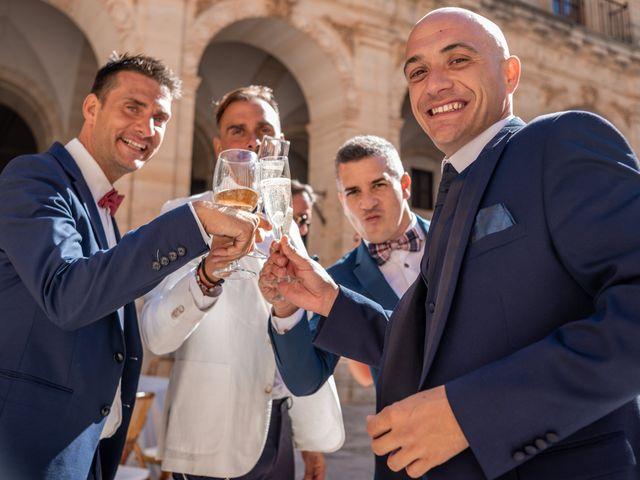 La boda de Fernando y Beatriz en Ucles, Cuenca 51