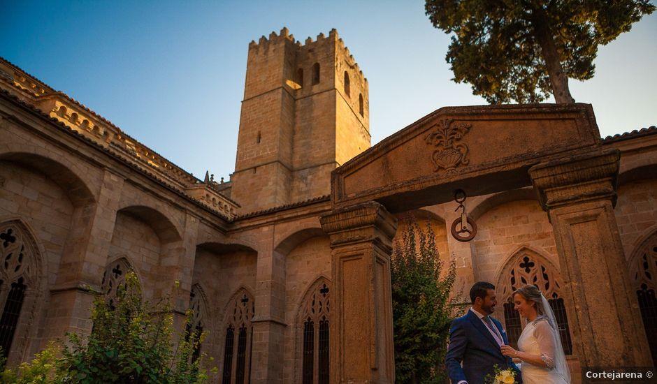 La boda de Manu y María en Siguenza, Guadalajara