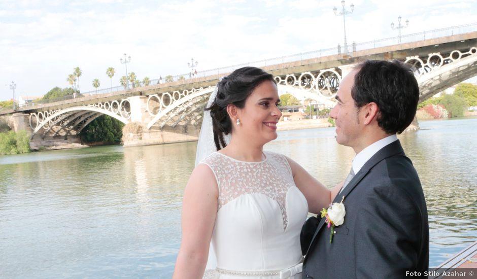 La boda de Fran y Carmen en Sevilla, Sevilla