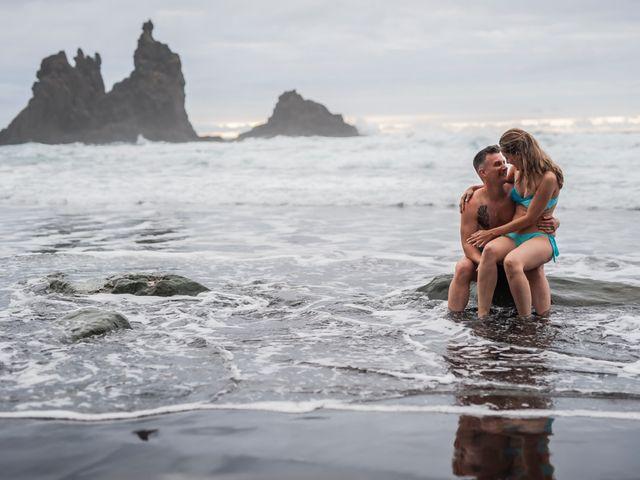 La boda de Angel y Beatriz en Puerto De La Cruz, Santa Cruz de Tenerife 8