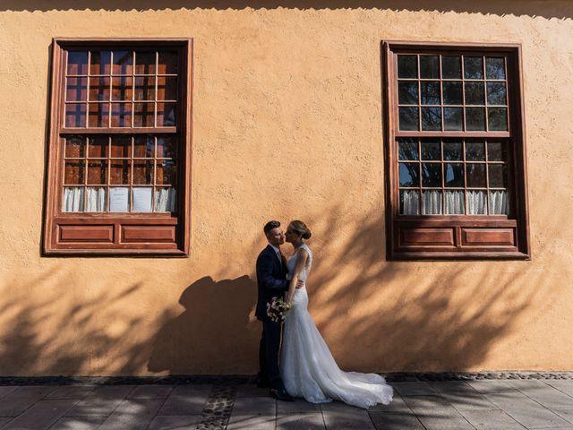 La boda de Angel y Beatriz en Puerto De La Cruz, Santa Cruz de Tenerife 17