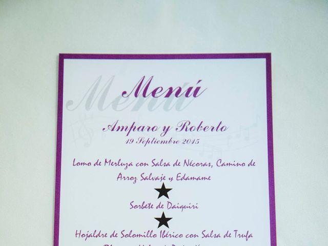 La boda de Roberto y Amparo  en Ciudad Rodrigo, Salamanca 44