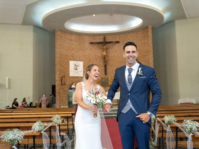 La boda de Lourdes y Yassin en Alhaurin De La Torre, Málaga 31