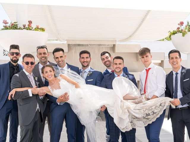 La boda de Lourdes y Yassin en Alhaurin De La Torre, Málaga 45