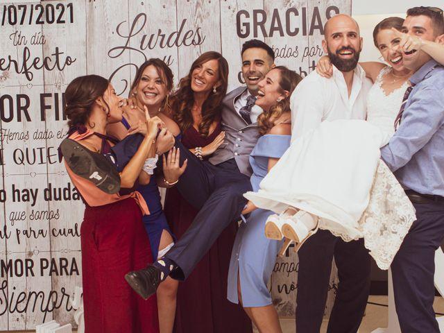 La boda de Lourdes y Yassin en Alhaurin De La Torre, Málaga 58