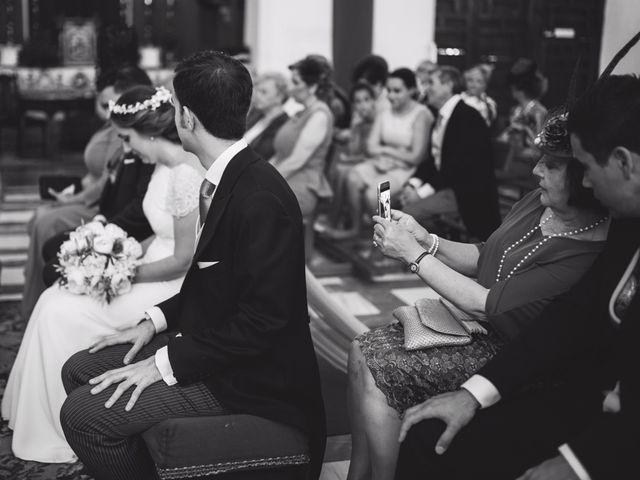 La boda de Ángel y Elena en Granada, Granada 33
